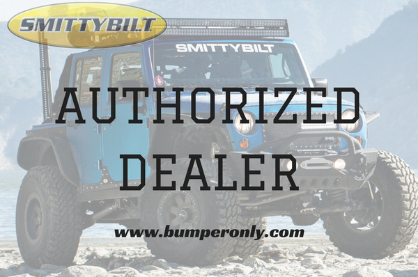 2003-2009 Smittybilt Dodge Ram 2500 614800 M-1 Rear Bumper textured black - BumperOnly