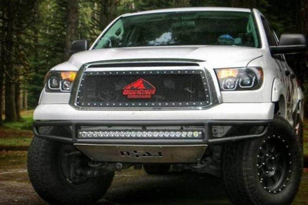 N-Fab T071MRDS Front Bumper Toyota Tundra 2010-2014 PreRunner Gloss Black M-RDS