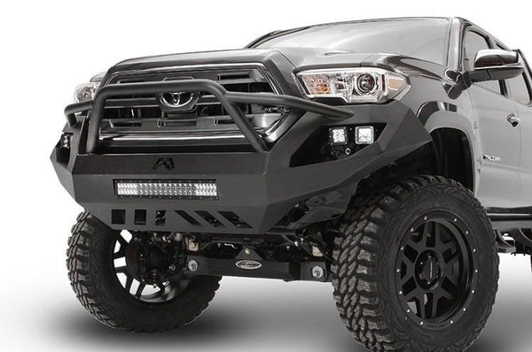 Fab Fours Vengeance Front Bumper Toyota Tacoma TT16-D3652-1  2016-2017 with Pre-Runner Guard