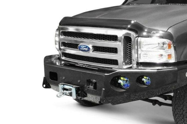 TrailReady 12303B Ford F250/F350 Superduty 2005-2007 Extreme Duty Front Bumper Winch Ready Base - BumperOnly