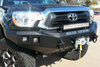 Road Armor Stealth 905R4B 2012-2015 Toyota Tacoma Front Winch Ready Bumper Pre-Runner Style, Black Finish and Square Fog Light Hole