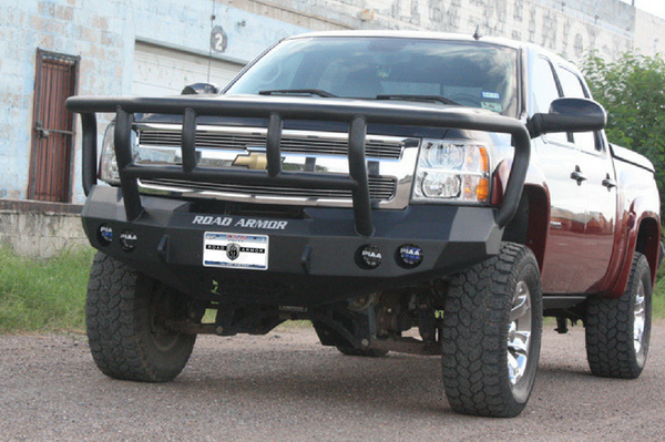 Road Armor 37702B Winch Front Bumper 2008-2013 Chevy ...