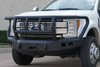 Road Armor 617f2b Ford F250/F350 Superduty 2017-2018 Stealth Stealth Front Bumper Titan II Guard Winch Ready with Square Light Holes