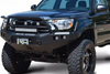 Road Armor Stealth 914R5B 2014-2021 Toyota Tundra Front Winch Ready Bumper Lonestar Guard, Black Finish and Square Fog Light Hole