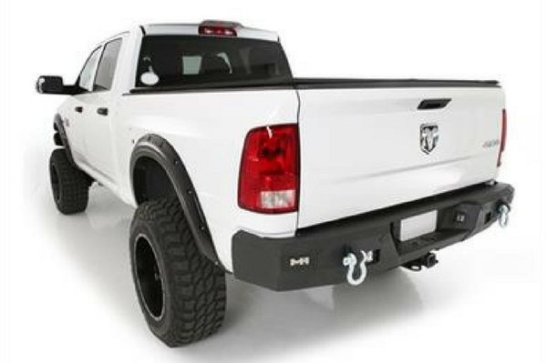 2010-2018 Smittybilt Dodge Ram 2500 614802 M-1 Rear Bumper Textured Black