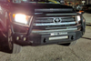 Road Armor Stealth 914R5B-NW 2014-2021 Toyota Tundra Front Non-Winch Bumper Lonestar Guard, Black Finish and Square Fog Light Hole