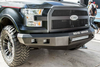 Road Armor Stealth 316R0B 2016-2018 Chevy Silverado 1500 Front Winch Ready Bumper No Guard, Black Finish and Square Fog Light Hole