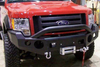 TrailReady 12201P Ford F150 2004-2008 Extreme Duty Front Bumper Winch Ready with Pre-Runner Guard - BumperOnly