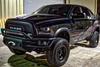 Road Armor SA4154B-NW 2015-2018 Dodge Ram 1500 Rebel Front Non-Winch Bumper Pre-Runner Style and Black Finish