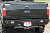 "Fusion Bumper Ford Excursion 2005-2007 Rear Raw Finish Dual Cut-outs for Fogs 10"" Single Row in Center FB-0507FORDRB"