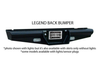 Ranch Hand Legend Rear Bumper GMC Yukon and YukonXL BBC008BLS 2000-2006 - BumperOnly