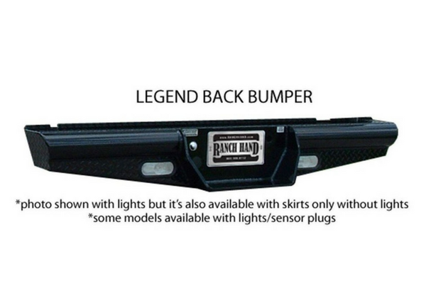 Ranch Hand BBC008BLS 2000-2006 GMC Yukon and Yukon XL Rear Bumper