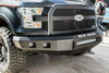 Road Armor 315R0B-NW 2015-2018 Chevy Silverado 2500/3500 Stealth Front Non-Winch Bumper No Guard, Black Finish and Square Fog Light Hole