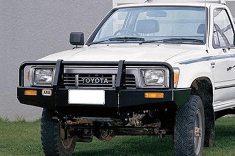 Arb 4x4 3414070 Deluxe Toyota Pickup Front Bumper 1986 1995 Winch Ready