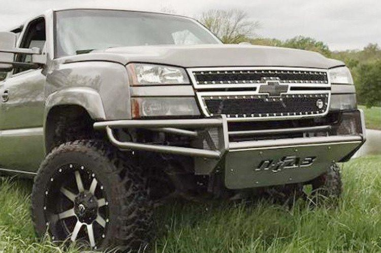 N fab rsp c034rsp chevy silverado 1500 2003 2006 front bumper n fab c034rsp front bumper chevy silverado 1500 2003 2006 pre runner gloss aloadofball Choice Image