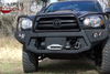 Fab Fours TT07-K1861-1 Toyota Tundra 2007-2013 Black Steel Front Bumper No Guard with Tow Hooks