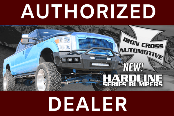 Iron Cross60-425-17 Hardline Ford F250/F350 Superduty Front Bumper 2017-2019