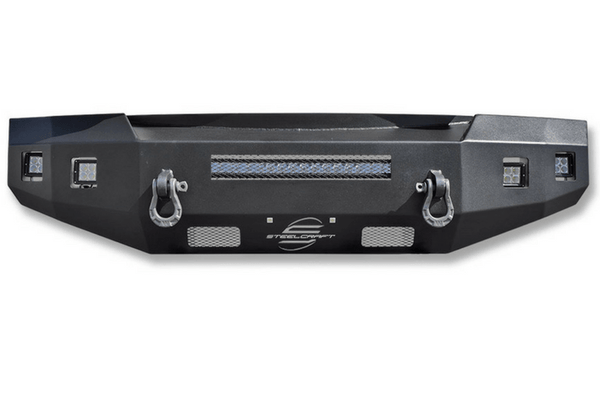Steelcraft 71-10440 Fortis Chevy Silverado 2500/3500 Front Bumper 2015-2018 Non-Winch HD Lines