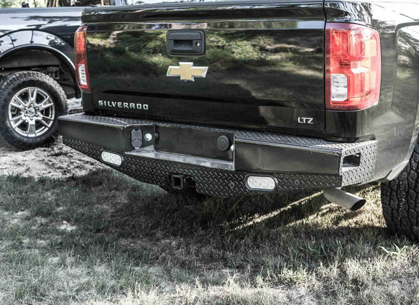 Ranch Hand SBC081BLSL 2007.5-2010 Chevy 2500HD/3500HD Sport Series Back Bumper