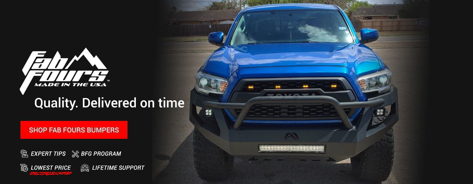 Aftermarket Truck Bumpers from the Biggest Off-road Brands