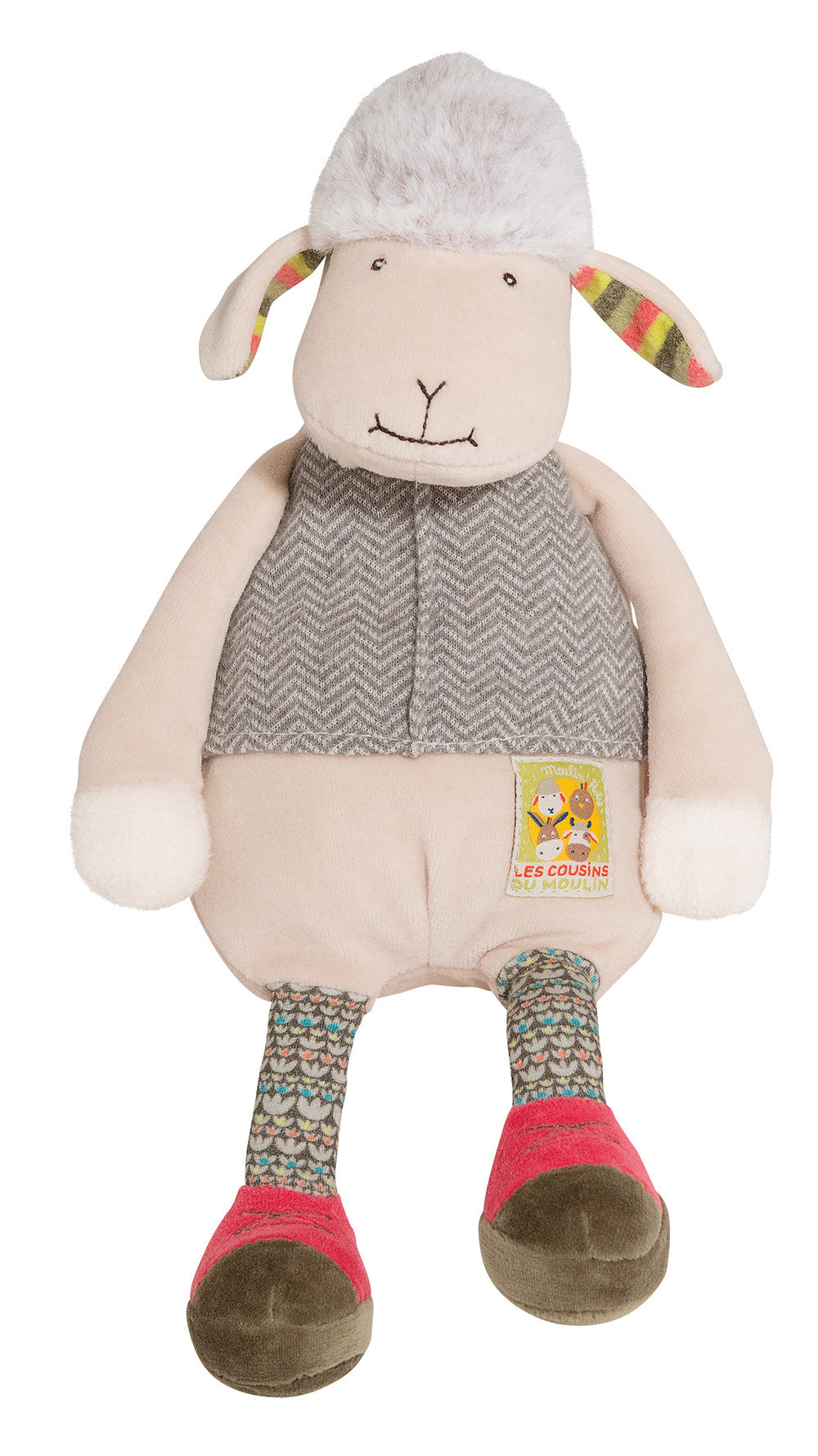 Baa-Baa the Ragamuffin Sheep - babyragsnstuff
