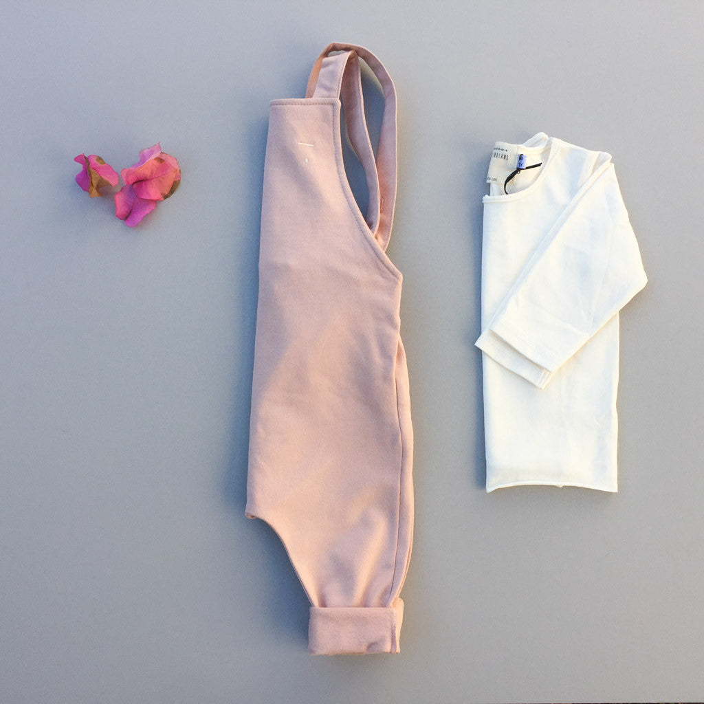 Scout Overall in Whisper Pink - babyragsnstuff