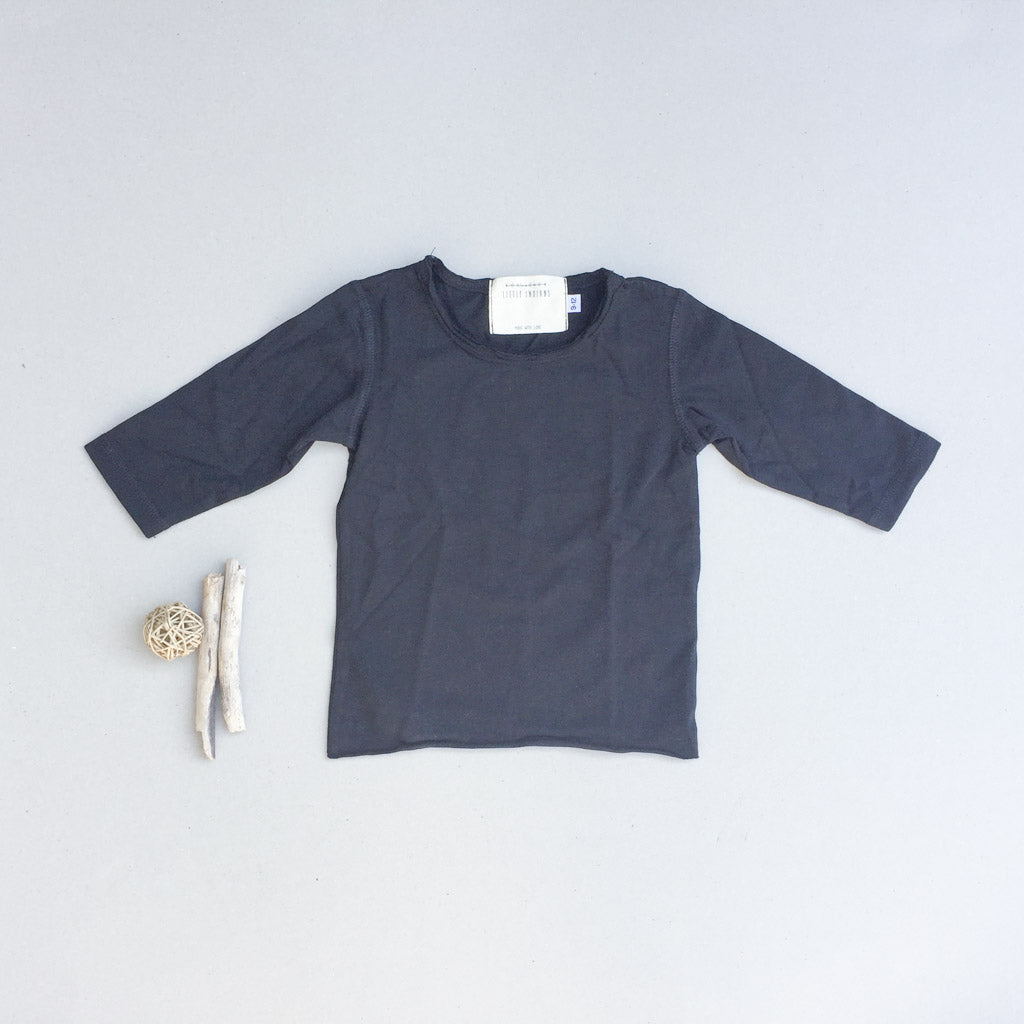 Mio Tee - Long Sleeve Midnight - babyragsnstuff