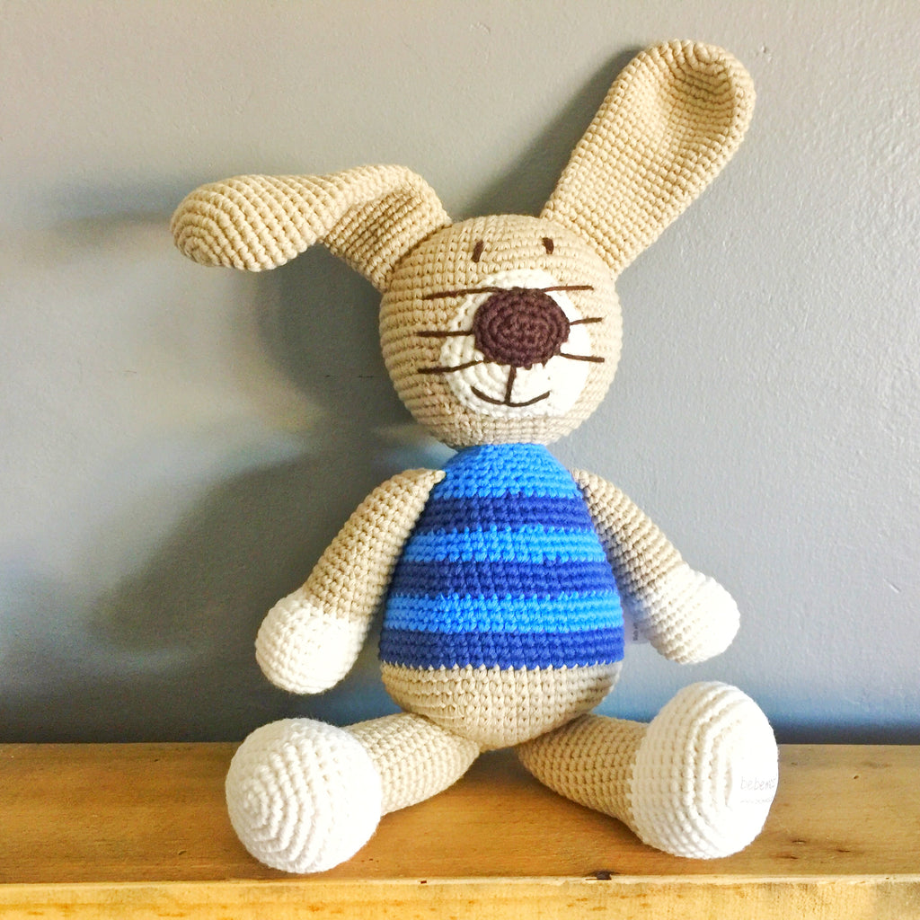 Piper Ragamuffin Rabbit - babyragsnstuff