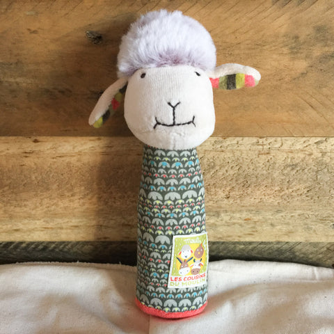 Baa-Baa the Sheep Squeaker - babyragsnstuff