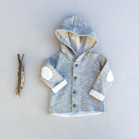 Camden Hooded Jacket - babyragsnstuff