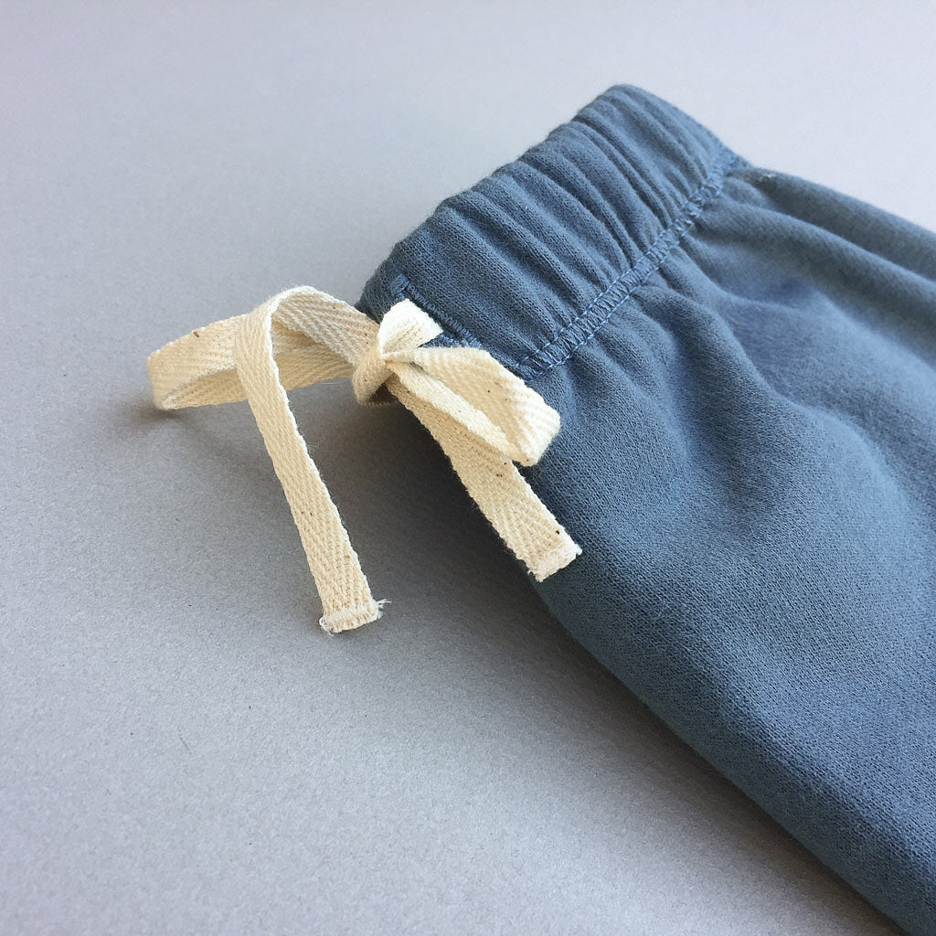 Dakota Pants in Cadet Blue - babyragsnstuff