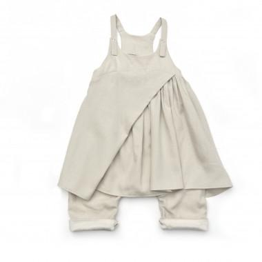 Anya Overall with Skirt - babyragsnstuff