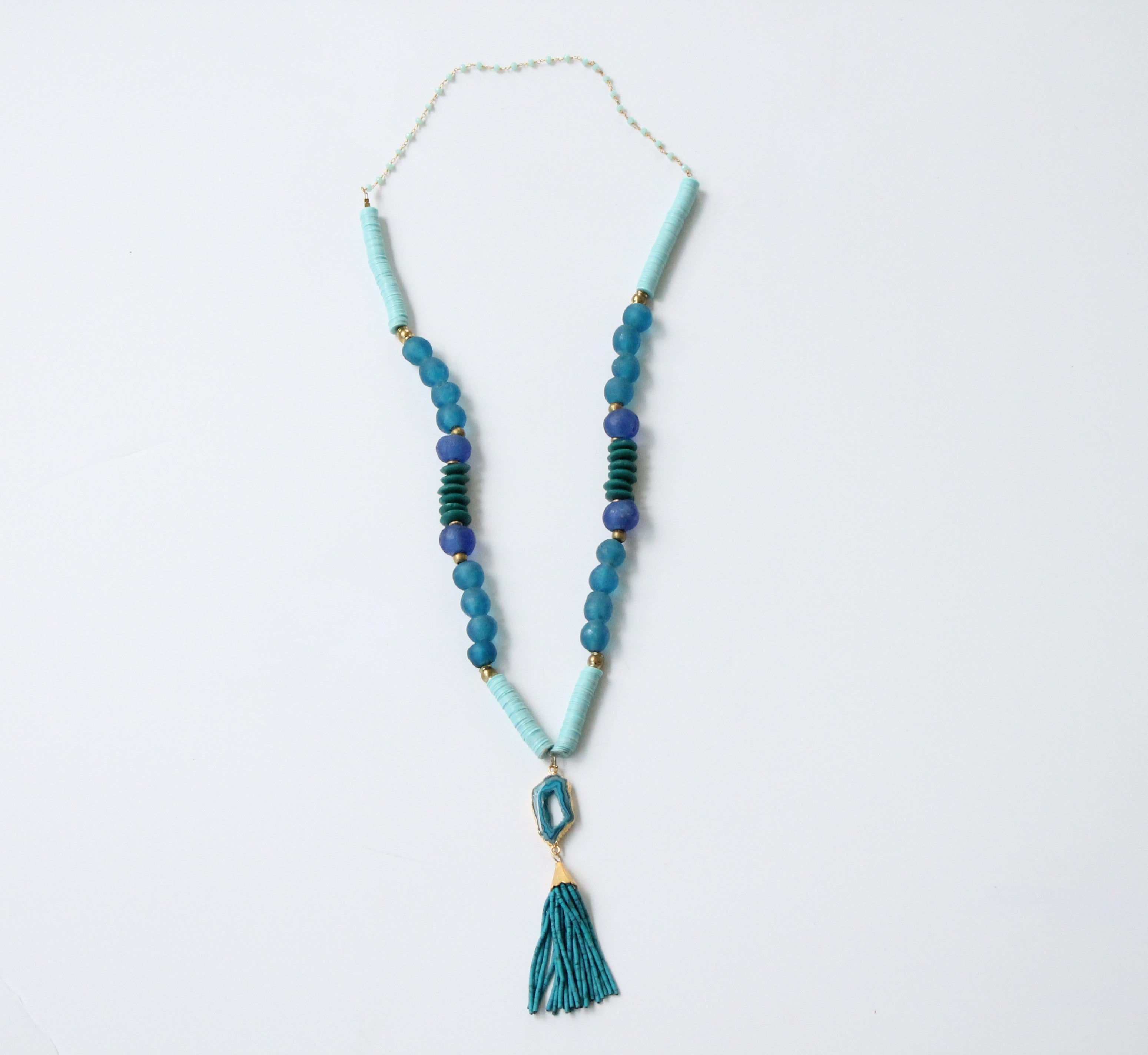 agate products img necklace tassel blue
