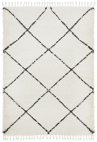 Luxe White Rug