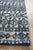 Rustic Casual Tribal Design Tara Rug - Navy/Grey