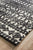 Rustic Casual Tribal Design Yasmin Rug - Ivory/Black