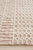 Rustic Casual Tribal Design Marlyn Rug - Peach/Ivory