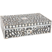 Taupe Mother of Pearl Inlay Box