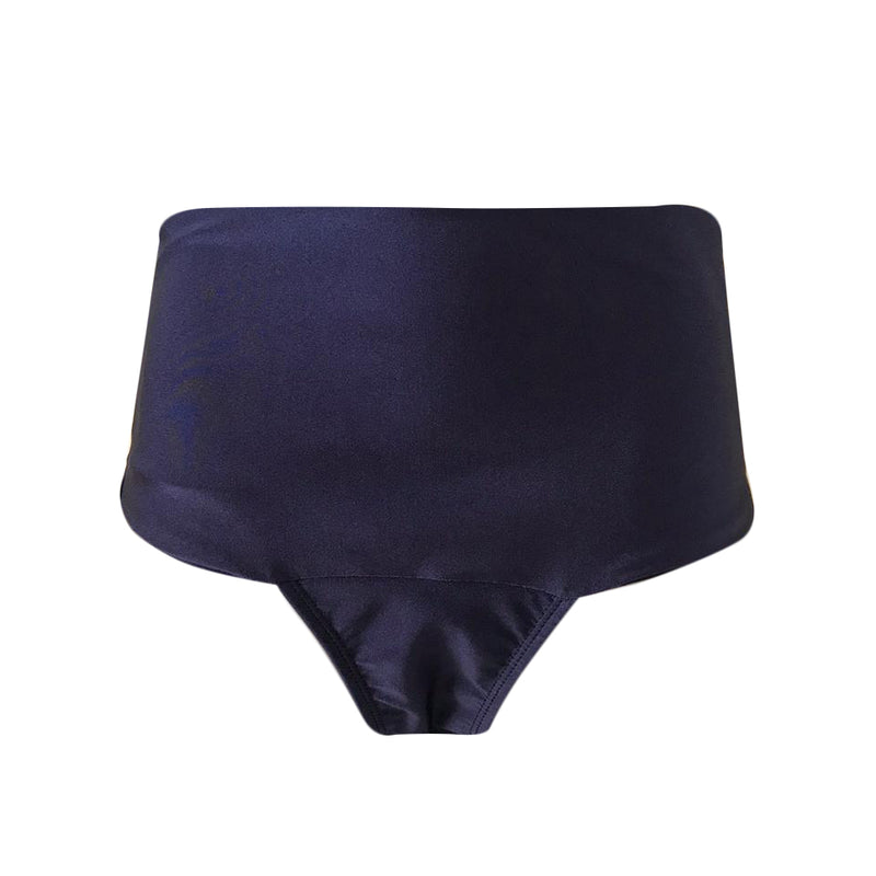 HOT PANT SHINE AZUL