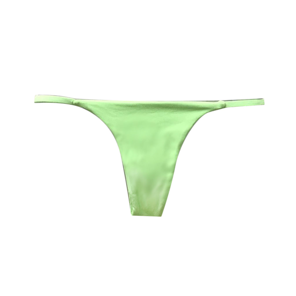 MINI TANGA REVERSIBLE VERDE NEON