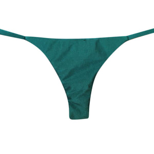 MINI TANGA REVERSIBLE SHINE VERDE