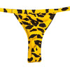 MINI TANGA ANIMAL PRINT AMARILLO