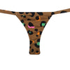 MINI TANGA LEOPARDO COLOR CON ROSA