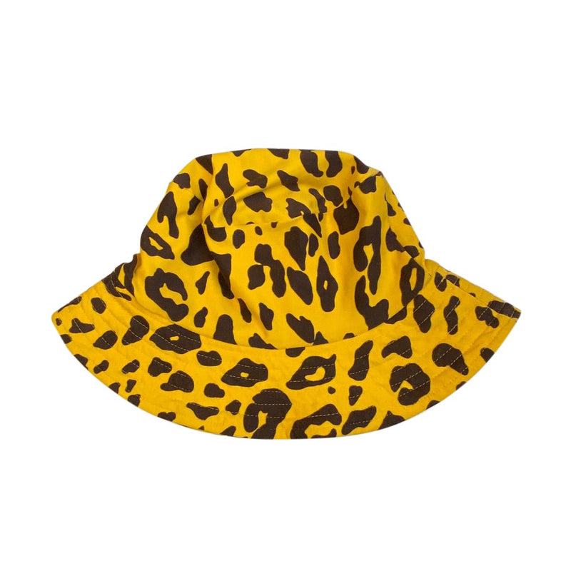 SOMBRERO ANIMAL PRINT AMARILLO