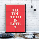 All You Need Is Love (Red)