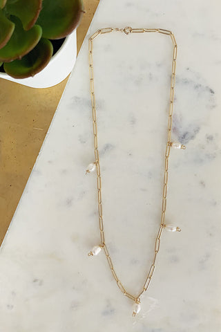 Dangling Pearls Choker/Necklace