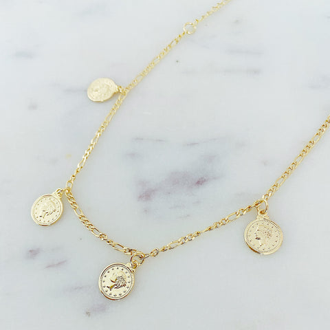 Large Coins Choker