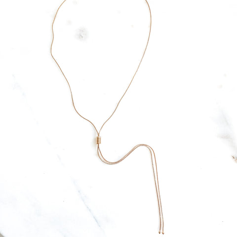 Adjustable Lariat