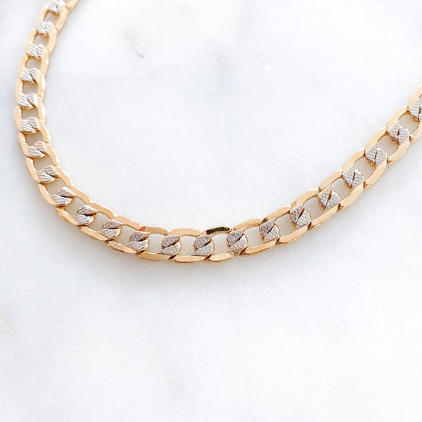 Two Tone and Reversible Daniela Necklace
