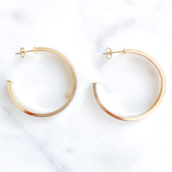 Medium Rivera Maya Hoops
